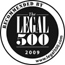 Listed in the Legal 500